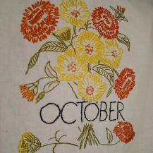 October - Cosmos