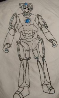Cyberrman #1