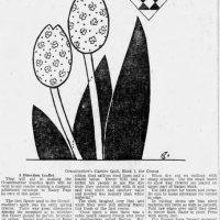 Grandma's Flower Garden Quilt - Crocus